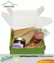 B2B Geschenkbox Wurst und Käse - klein