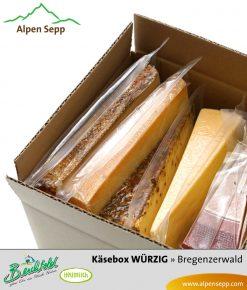 Heumilchkäse Box - 4 würzige Käsesorten