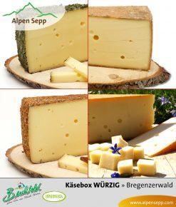 Heumilchkäse Box - 4 würzige Käse