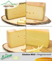 Käse Test Box - 4 milde Käsesorten