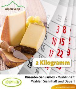 Käseabo 2 kg - 10 Käsesorten wählen