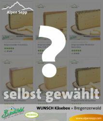 Wunsch Käsebox mit 8 Käsesorten