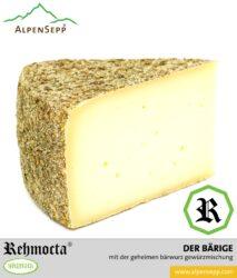 REHMOCTA » Der Bärige | Käse Spezialität aus Heumilch® | mit Bärwurz affiniert.