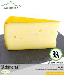 REHMOCTA® » Ähle « | Käse Spezialität | mit STAY SPICED ! Gewürzmischung und feinem Zimt affiniert