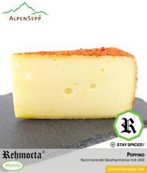 REHMOCTA® » Peppino « | Käse Spezialität | mit STAY SPICED Chilimischung affiniert
